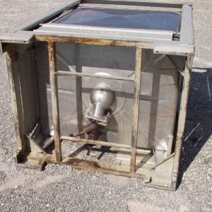 1 cbm Aluminiumcontainer Blefa und Hausach Art.1261