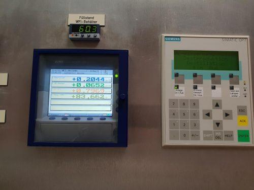 Destillationsanlage für WFI Wasser oder Reinstdampferzeugung