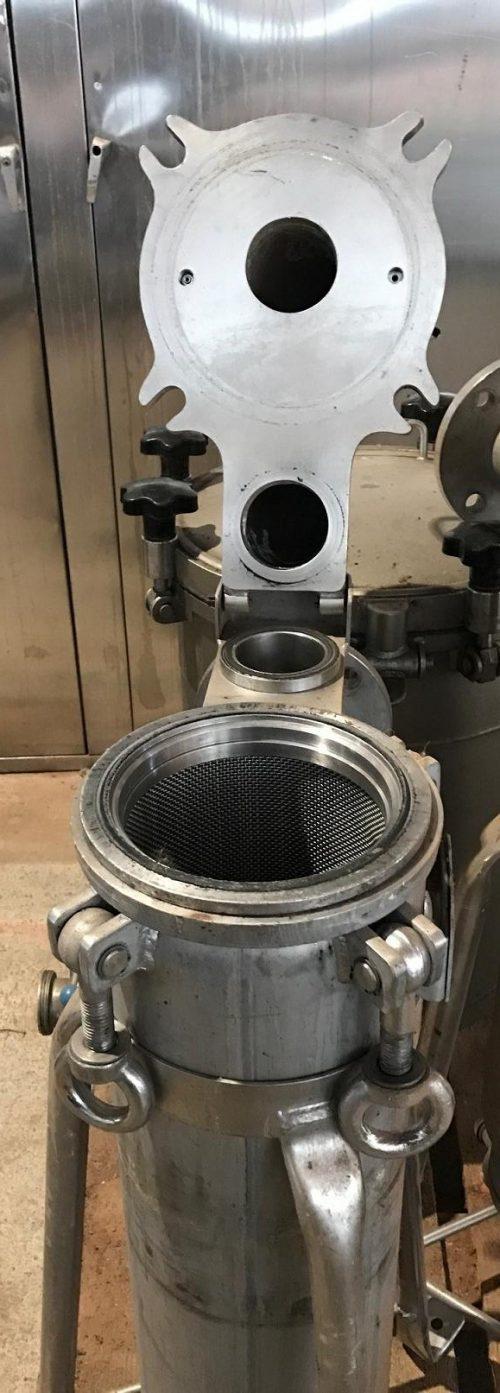 Edelstahlfilter stehend Hersteller Art.2074