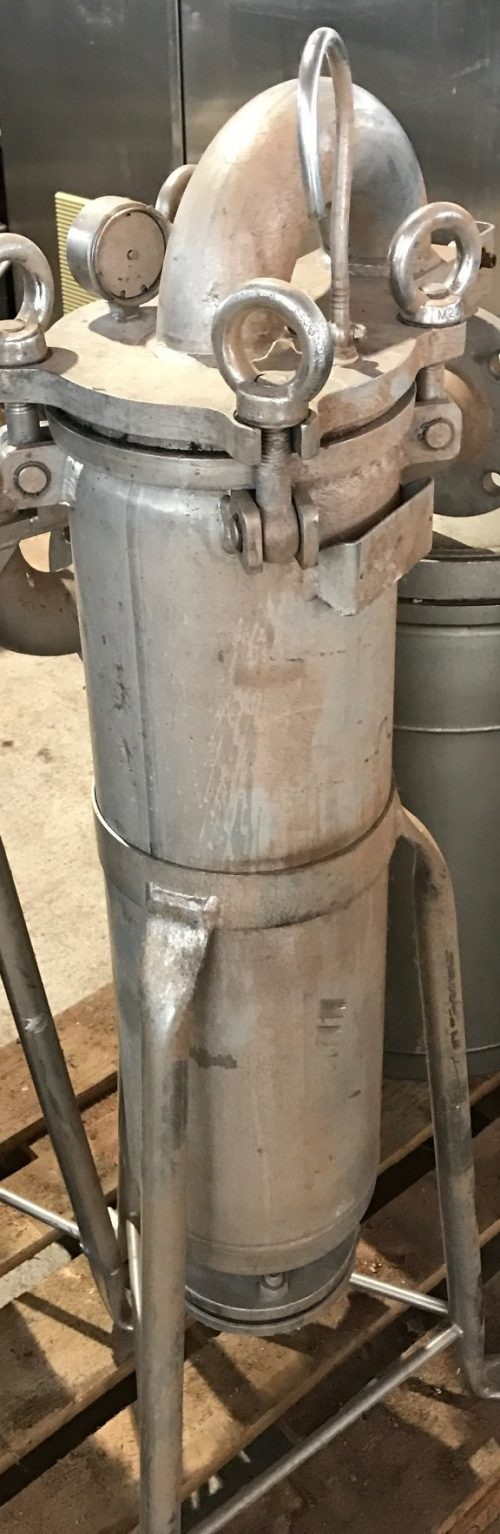 Edelstahlfilter stehend Hersteller Art.2075