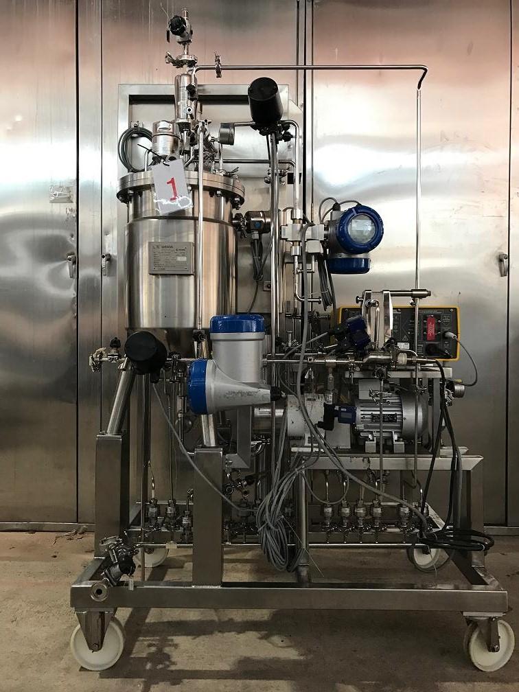 Crossflow Filtrationssystem Sartorius Sartaflow Alpha Gs