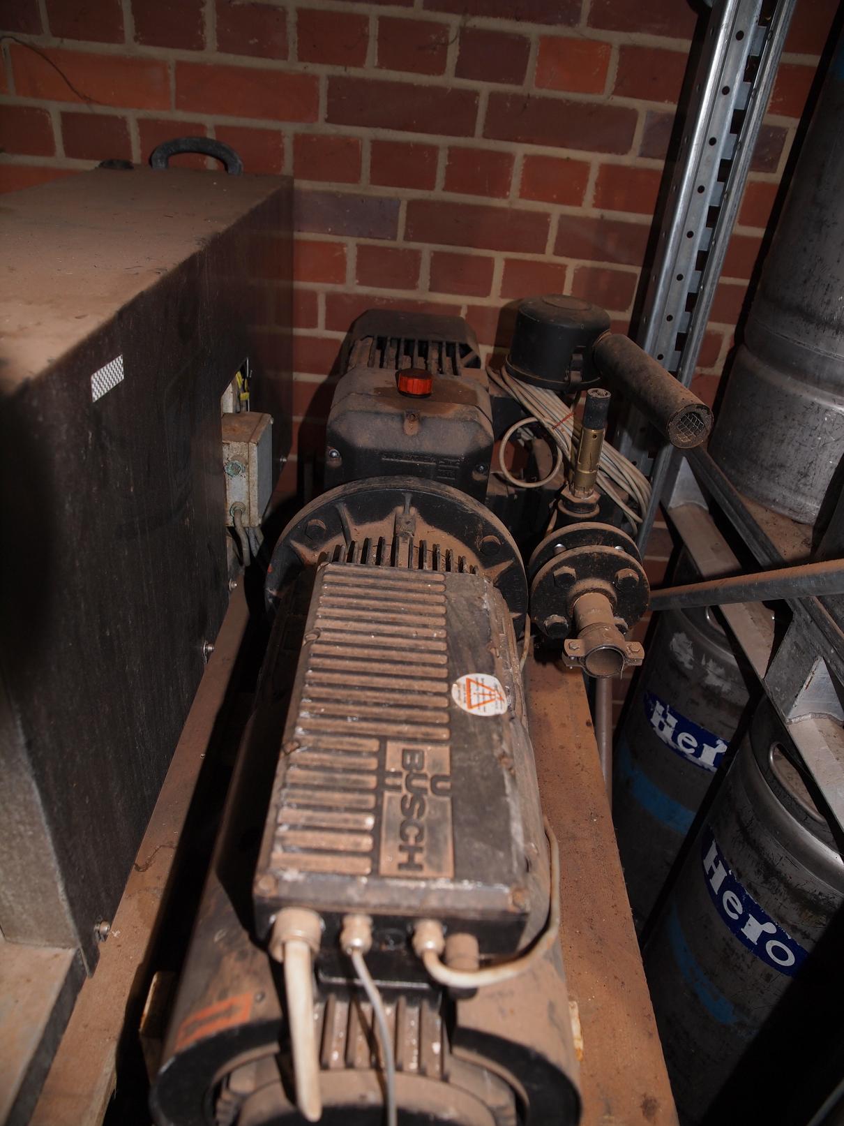 Mink-Trockene Klauen-Vakuumpumpe